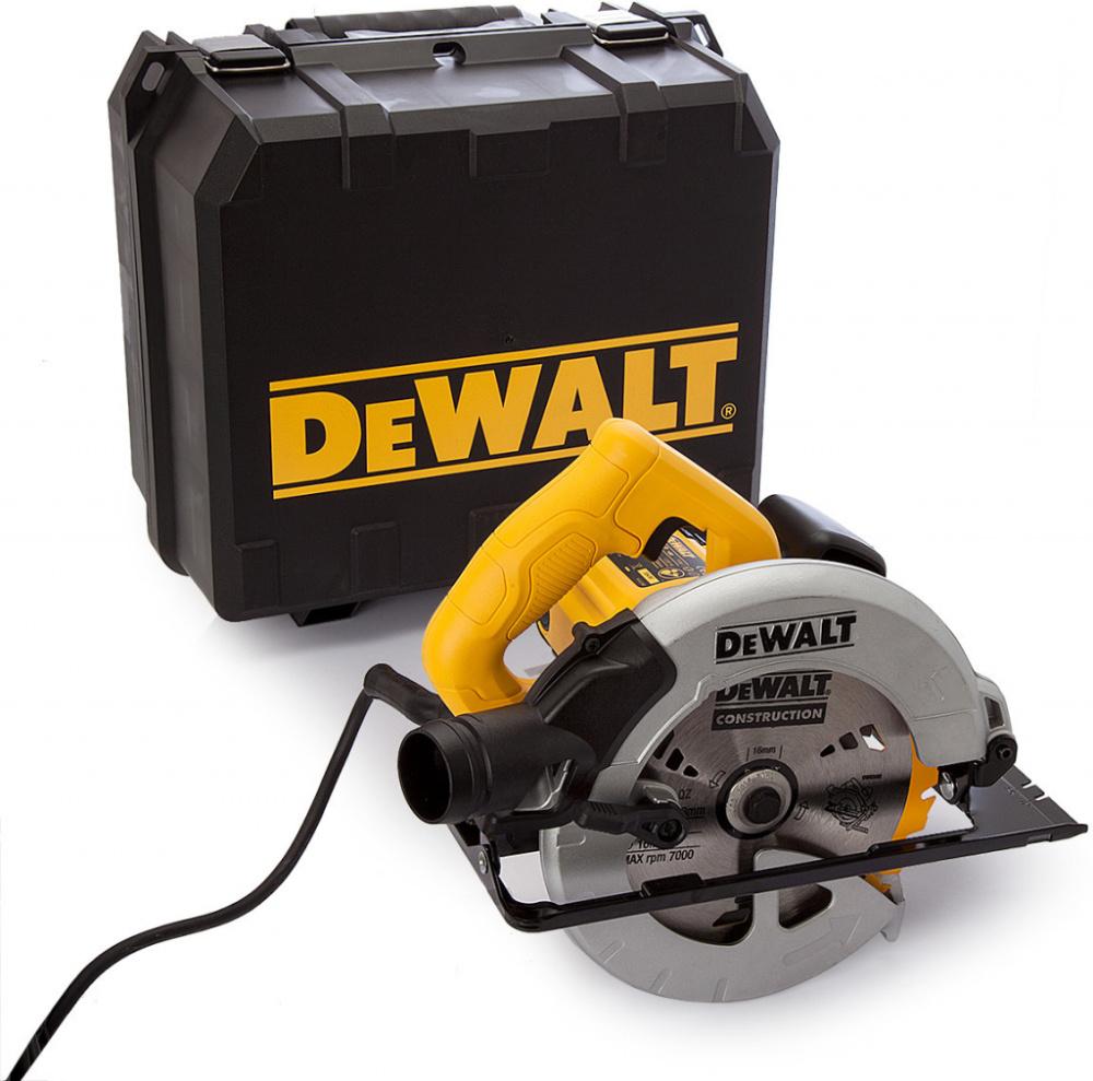 DEWALT DWE560K Ruční okružní pila 184mm / 1350W